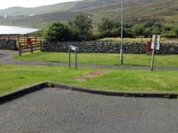 There is a large car park with accessible parking near to the start of the path.