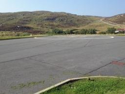 Emergency landing pad for Coastguard Helicopter