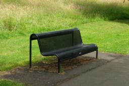 There are a number of benches along the loch-side path.