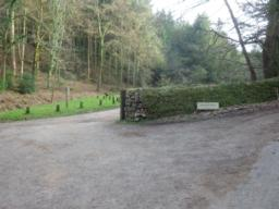 Nutcombe Bottom car park is entered by turning left off a minor road about 1km from the A396