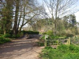 A good path leads to Gallox Bridge.  It is possible to turn right here, retracing the original route.  An interesting alternative is to cross the 1.2m wide bridge and return through the centre of Dunster.