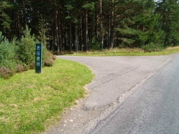 This is the Alt Mhor Easy Access Trail. There is the Alt Mhor Trail which also starts from this same car park.