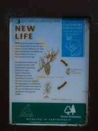 The are seven information boards giving an insight into the natural history of the woodland through which the path passes.