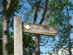 There are sign posts to guide you.