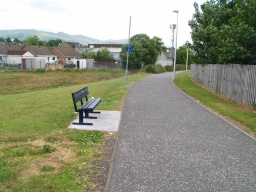 This the only seat until Parkhead Road, about 1Km away