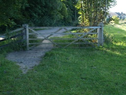 At the end of the embankment there is a field gate that gives access onto the track to Arnside station.This may be the best place to turn back to the car park unless you want to visit the Bittern Countryside Centre. It has restricted opening hours, check in advance.