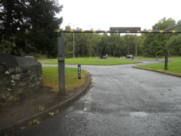 There is a  barrier on the approach to Balloch Castle Country Park, this measures 2000mm in height.