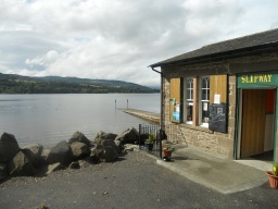 The Slipway provides refreshments and disabled toilets.