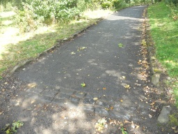 Although the width and surface of this path are good, the gradient is steep, measuring 9% (1:11) over a distance of approximately 20 metres. Visitors that use wheelchairs may require assistance at this point.
