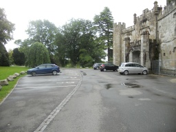 Alternative parking is available for visitors who enter from the North Lodge. This car-park is situated behind the Castle .
