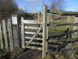 The kissing-gate at the entrance to Battlefield is restrictive. Wheelchairs users will find this difficult to enter due to the dimensions of the wooden enclosure.