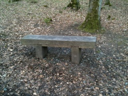 The bench is 470mm high.
