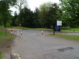 The walk begins from the main car park in Callendar Wood. This is reached by turning up Estate Avenue from the roundabout on Callendar Road (A803) and following it to the red and white barrier which is open when the park is open.The car park is at Ordnance Survey Grid Reference NS 893 794