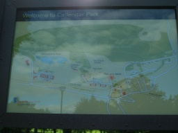 There is an information board near the start of the trail.