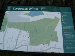 A plan of Cardowan Wood is available at the entrance.