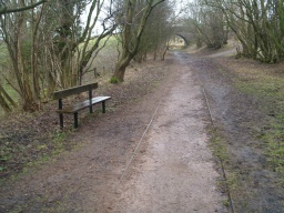 Seats are regularly provided close to the path.