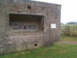 There is further information about the history of the railway line given at one of the two shelters along the route.