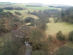 Views of the surrounding countryside area available from the viaduct.