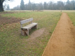 This is the third of four seats along the circular walk.