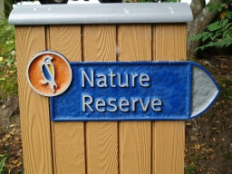 Follow the signs to the nature reserve.