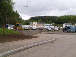 There is  another car park in the new housing development further up Station Wynd.