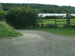 Opposite the track to Wigfield Farm is a path into Worsbrough Contry Park.The bird hide can be seen over looking the reservoir.