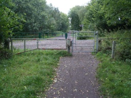 Where Smithy Wood Lane crosses the trail there are two self-closing, two way opening gates with easy to use latches.