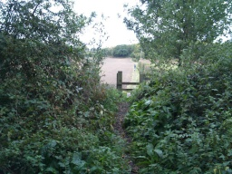 Various footpaths connect to the surrounding countryside from the old railway.
