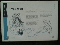 The Well sign.