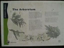 The Arboretum sign
