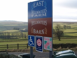 The entrance to East Mellwaters Farm is off the A66 at Ordnance Survey Grid Reference NY968130.The farm offers accessible self catering accommodation in farmhouse cottages.