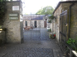 Toilets are located next to the tearoom. Although the toilets are accessible, cobbled stones on the approach may present difficulty for some visitors.