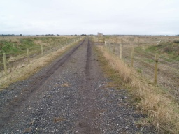 The track is shared with farm vehicles at times and the surface may be rutted or muddy as a result.