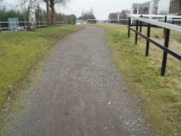 The surface of the tow path along most of this trail is a little uneven. Check the map tags to see the worst places.