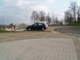 There are blue badge parking bays very close to the visitor centre. Buses also run to this point.