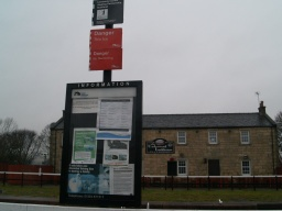 Some information about the Forth and Clyde Canal is available in the car park.
