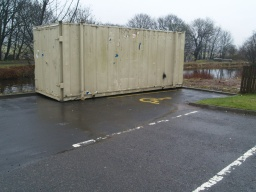 There are two disabled parking bays in the car park. One was not available when this trail was surveyed.