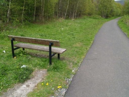 The seat is the last resting point for over 2Km.