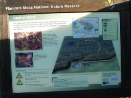 There are numerous information boards around the reserve.