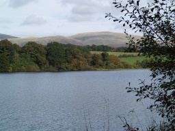 A view across the reservoir