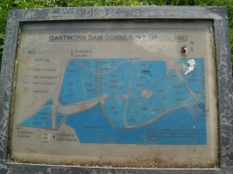 Another information sign gives details of other local paths.