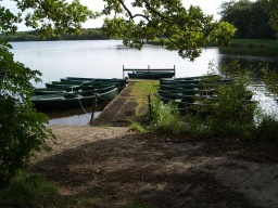 Boat fishing is also available on the reservoir.