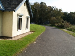 There is more parking at the back of the visitor centre.