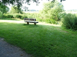 Seats are also provided on the meadows overlooking the river