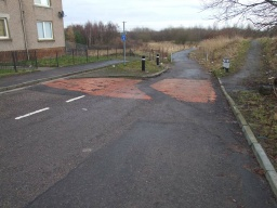 This trail starts at the eastern end of David's Loan, Falkirk  at Ordnance Survey Grid Reference NS 894820There is car parking on the street and buses run to this end of David's Loan.