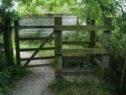 The second gate has similar clearances as the first.