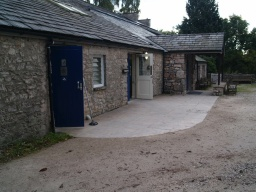 There are toilets at the visitor centre, including facilities for disabled  people. There is also a cafe.