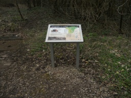 Interpretation boards are well-placed throughout the site.