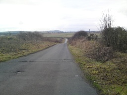 The Drum Road leads to Westerton Farm as well as other walks and  a right-of-way which I don`t think is used very often due to the lack of maintenance . The steepest part of this slope is 9% (1:11).