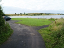 There are accessible fishing stations available around the loch and disabled drivers can park very close to these.